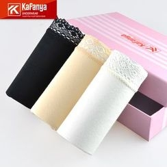 Kafanya - Lace Trim Under Shorts