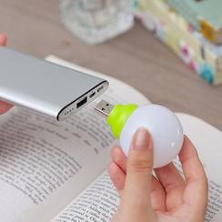 Yulu - 便携迷你USB泡泡灯