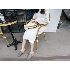 MARSHMALLOW - Raglan-Sleeve Knit Dress
