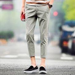 Pinth - 纯色九分裤