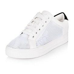 YIYA - Mesh Platform Sneakers