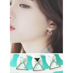 kitsch island - Triangle Earrings
