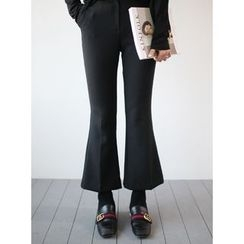 STYLEBYYAM - Boot-Cut Dress Pants