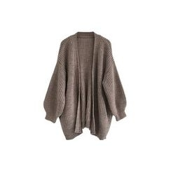 A7 SEVEN - Open Front Chunky Cardigan