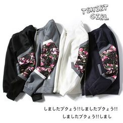 Blueforce - Print Panel Bomber Jacket