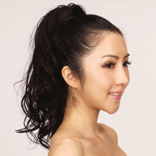 LeSalonWigs - Ponytail Wrap - Wavy