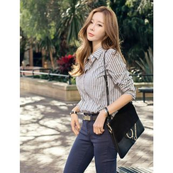 GUMZZI - Cotton Stripe Shirt