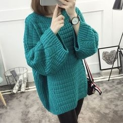 Kofushi - Plain Chunky Long Sweater
