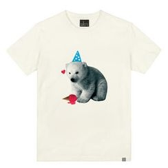the shirts - Baby Polar Bear Print T-Shirt
