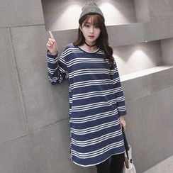 Maine - Striped T-Shirt Dress