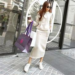 PIPPIN - Set: Hooded Pullover + Long Skirt