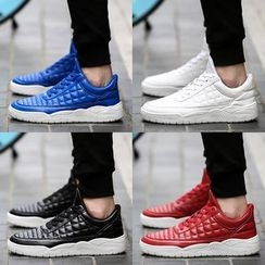 Komm - Quilted Plain Sneakers
