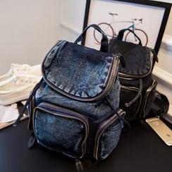 Nautilus Bags - Denim Backpack