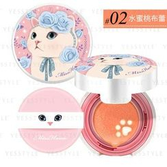Miss Hana - Choo Choo Cat Air Cushion Blusher (#02 Orange)