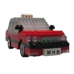 M.H. Blocks - 香港的士積木玩具