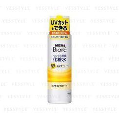 Kao - Biore Men Permeable Toner UV SPF 30 PA+++ (Milky Type)