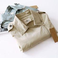 Bonbon - Plain Long Jacket