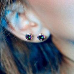 Andante - 水鑽耳環