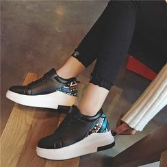 Hipsole - Panel Wedge Sneakers