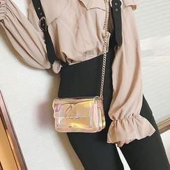 Nautilus Bags - Chain Strap Jelly Shoulder Bag
