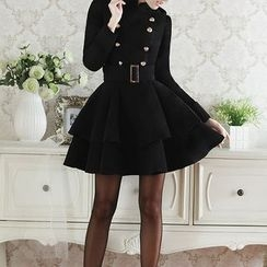 Deedlit - 双排扣外套裙