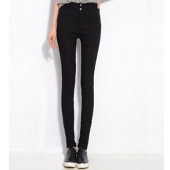 Splashmix - High-Waist Skinny Pants