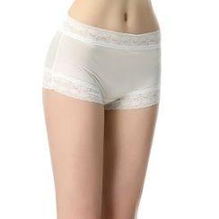 Kamuka - Lace Trim Panties