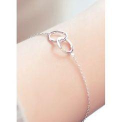 kitsch island - Metallic Round Bracelet