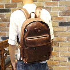 Brickhouse - Faux Leather Backpack