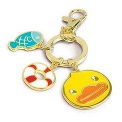B. Duck - B. Duck Keyring Charm