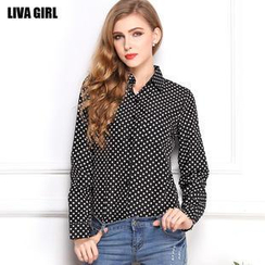 LIVA GIRL - Dotted Shirt