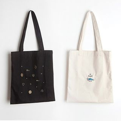 BABOSARANG - 'Ggodungo' Series Cotton Shopper Bag