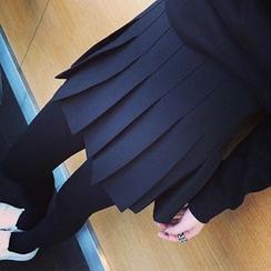 Dute - 飾褶短裙