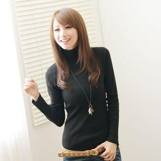 F-DNA - Turtleneck Long Sleeve Top