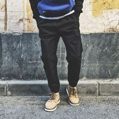 Milioner - 纯色漫跑裤
