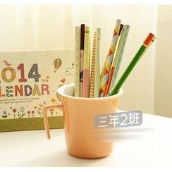 Class 302 - Patterned Pencil Set