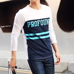 Really Point - Lettering Long-Sleeve T-Shirt
