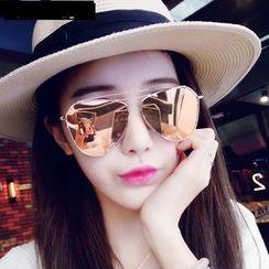 MOL Girl - Mirrored Aviator Sunglasses