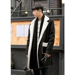 GERIO - Faux-Shearling Coat