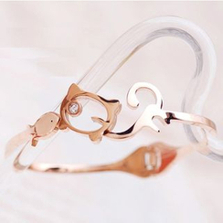 Claudette - Cat Bangle
