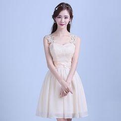 Tinkabel - Lace Panel Bridesmaid Dress