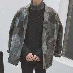 Streetstar - Woolen Camo Coat