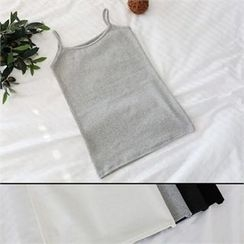 PINKSISLY - Brushed Fleece Camisole Top