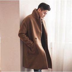 优凡士品 - 羊毛长款大衣