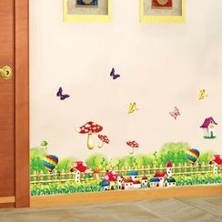LESIGN - Mushroom Wall Sticker