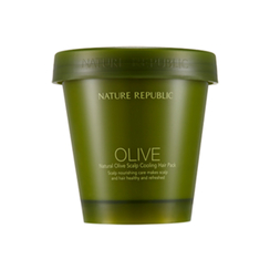 Nature Republic - Natural Olive Scalp Cooling Hair Pack 200ml