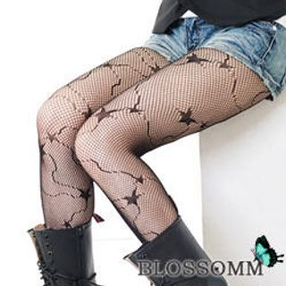 Blossom Gal - Patterned Tights