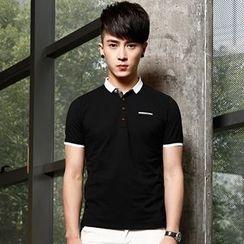 WOOG - Contrast Trim Polo Shirt