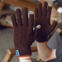 Lose Show - Cashmere Knit Gloves