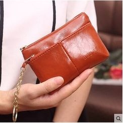 SUOAI - Faux Leather Coin Purse